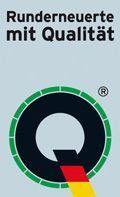 Runderneuerte mit Qualität Logo